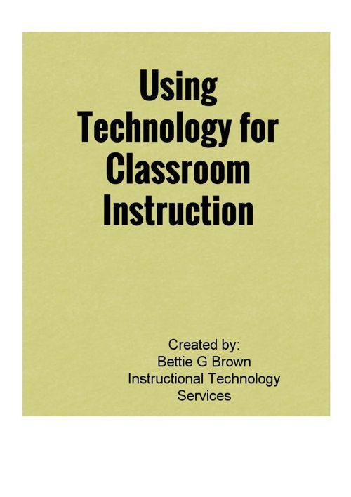 Copy of Copy of Technology In Education