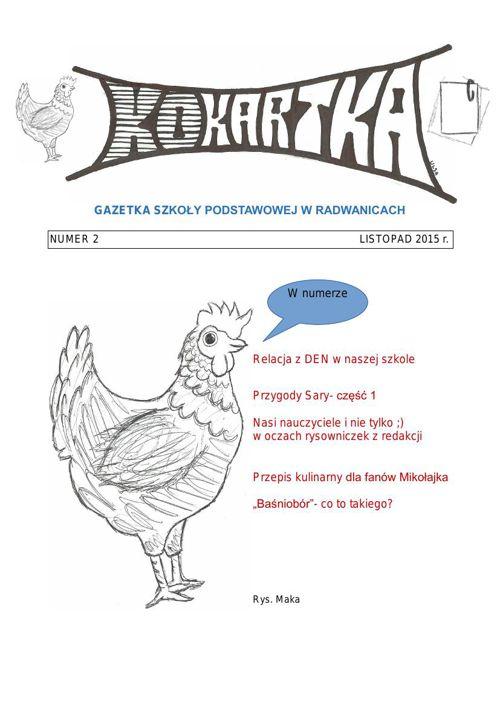 Gazetka szkolna - Listopad 2015