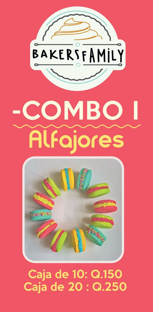 Combos y Mix  Bakers Family Navideños