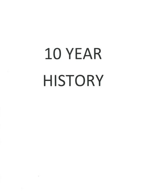 10 Year History
