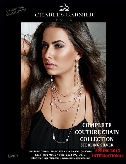 Couture Silver Chain Collection Spring 2013 Int.