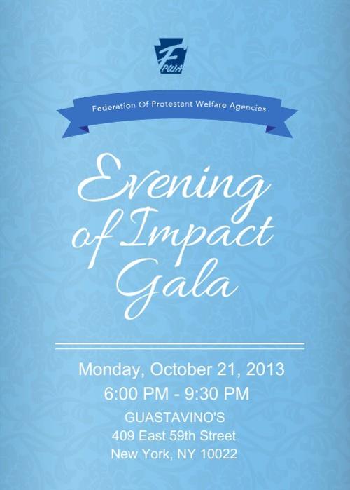 FPWA's 2013 Gala Invitation