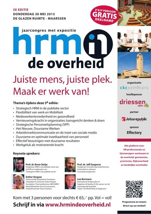HRM in de Overheid 2013