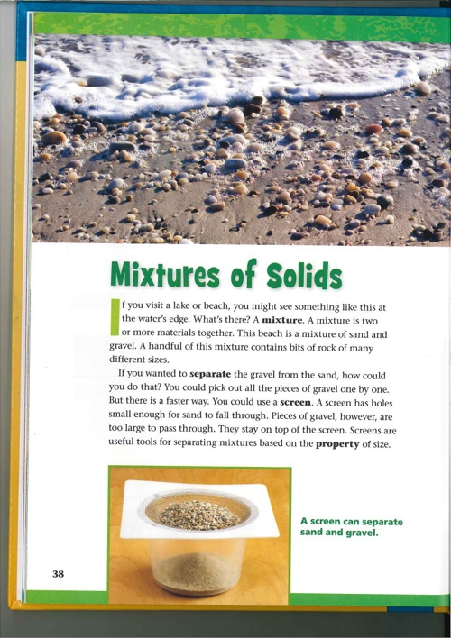 Mixtures of Solids