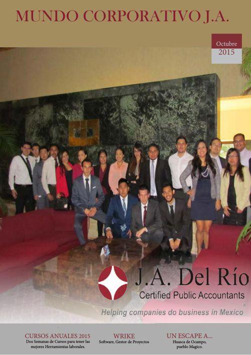 Revista Mundo Corporativo J.A 2015