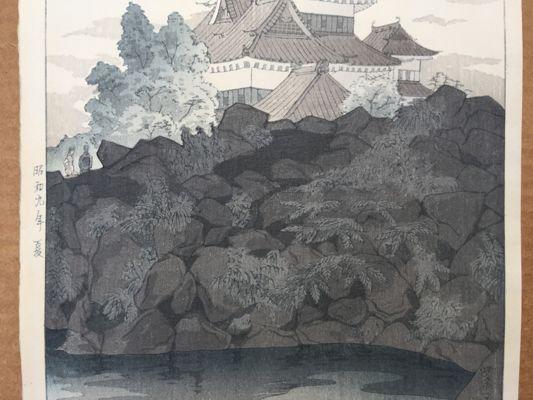 Matsumoto Castle in Shinshu Shiro Kasamatsu