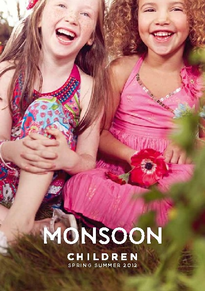 MONSOON Children's wear SS12