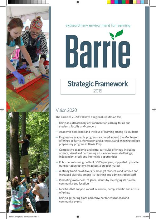 2015 Barrie Strategic Framework