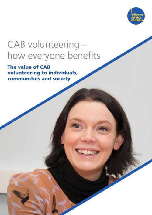 CAB volunteering - how everyone benefits