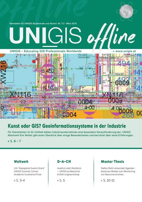 UNIGIS offline Nr. 72 - März 2018