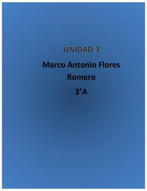 recetario unidad 3 Marco