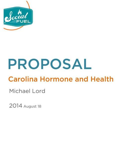 Carolina Hormone Proposal