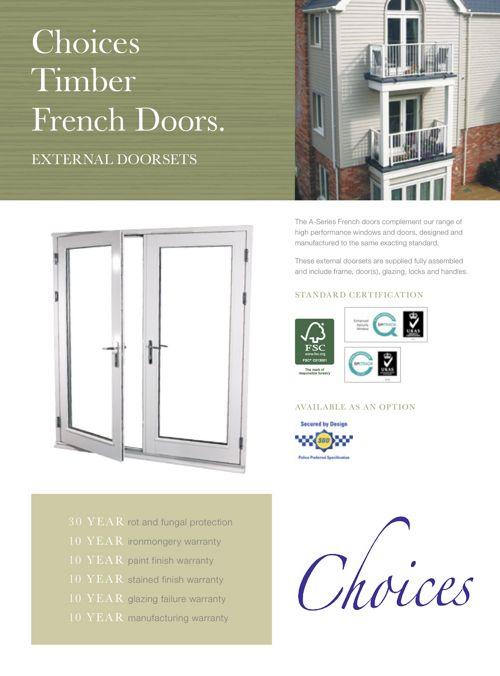 Timber French Doors alan bros