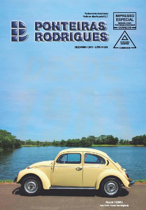 Catálogo Ponteiras Rodrigues