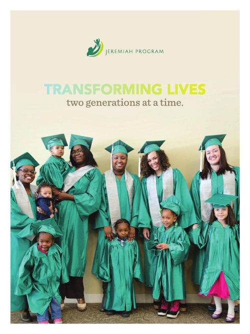 Jeremiah Program Annual Report 2013