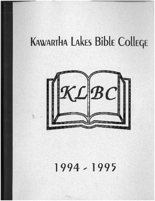1994 - 1995 Yearbook