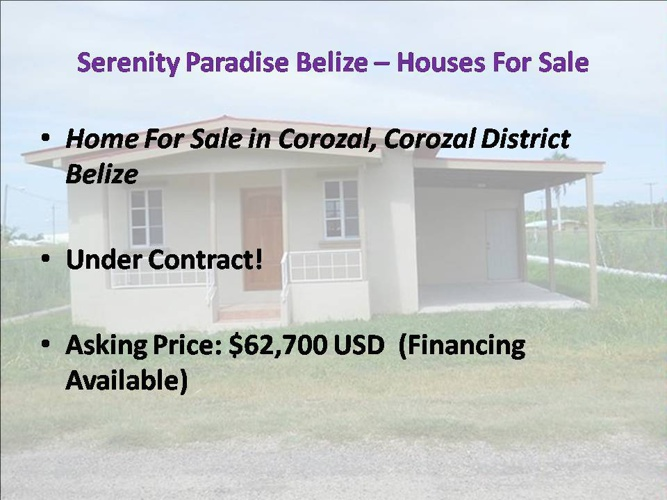 Serenity Paradise Belize – Houses For Sale