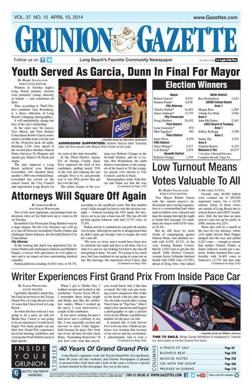 Grunion Gazette | April 10, 2014