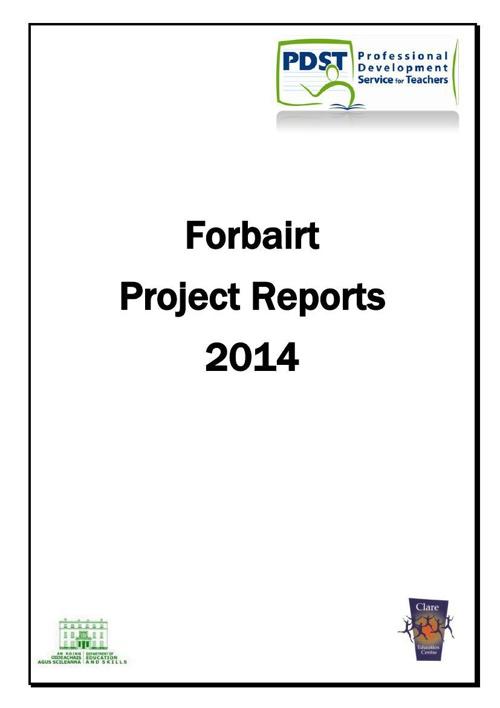 Forbairt Booklet 2014