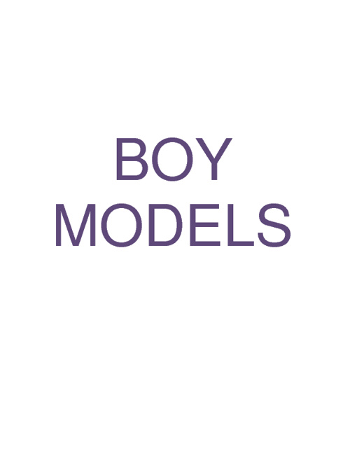 Boy Models