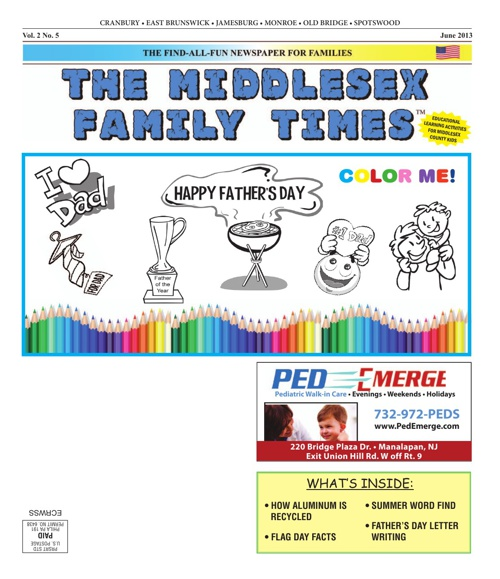 Middlesex Family Times May 2013