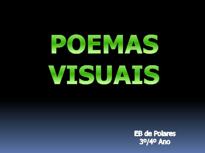 POEMAS VISUAIS