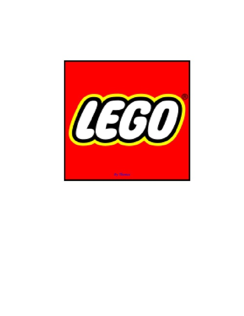 All About Lego