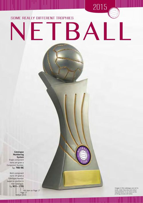 Impact Trophies Netball Trophies