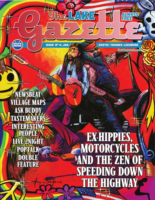 January, Lake Gazette