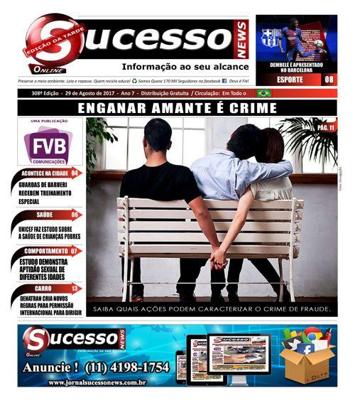 Jornal Sucesso News - Edição - 308 ONLINE