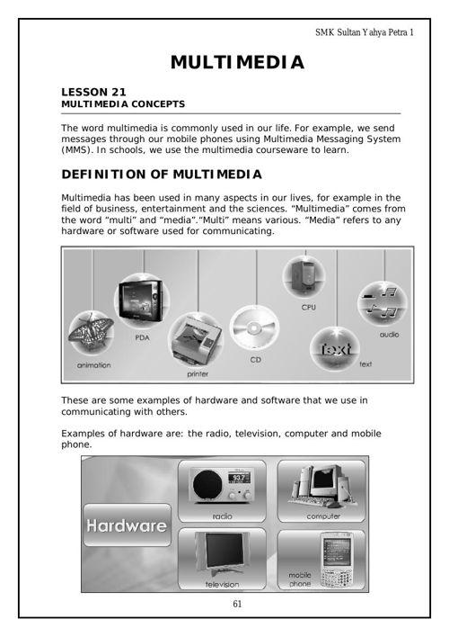 LA4: Multimedia