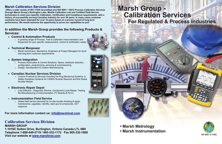 Marsh-Calibration Brochure