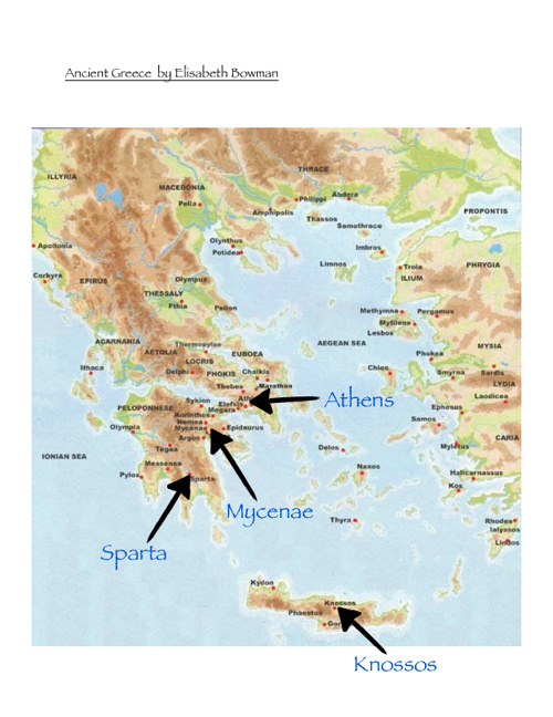 Ancient Greece Travel Journal