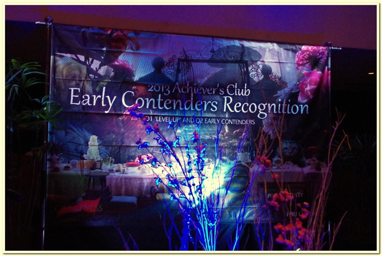 2013 Achiever's Club Early Contenders Recognition Party