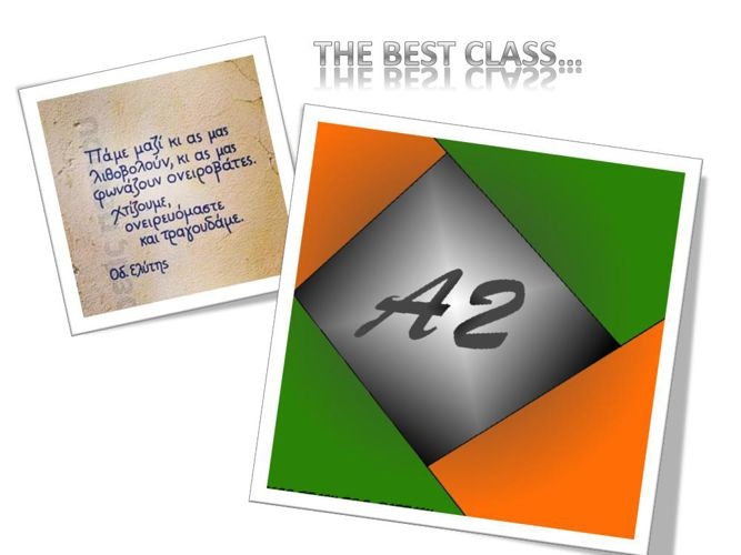 THE BEST CLASS
