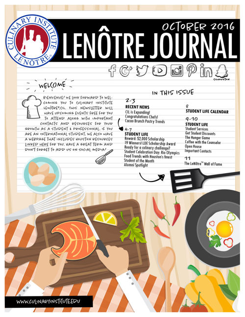 Fall 2016 Newsletter | LeNôtre™