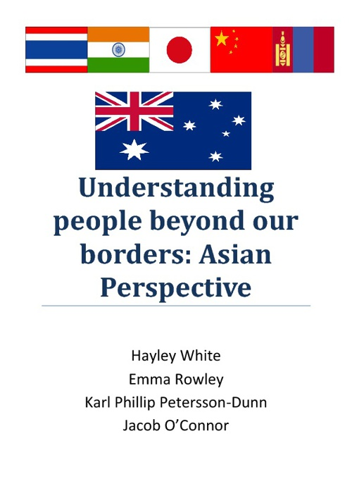ECL210 Understandin people beyond our borders: Asian Perspective