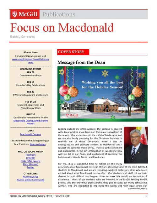 Focus-on-Macdonald-E-Newsletter-Winter-2013