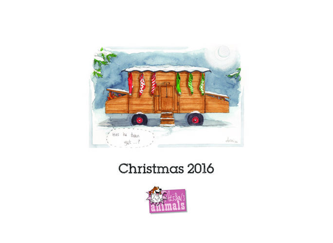 Alison's Animals Christmas Leaflet
