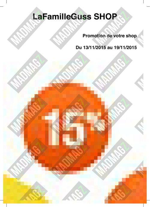 Catalogue du 14 au 19 novembre | #2nov