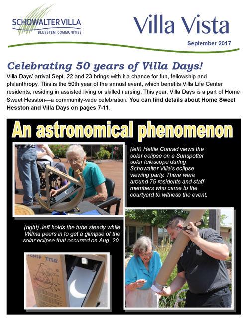 Villa Vista   September 2017