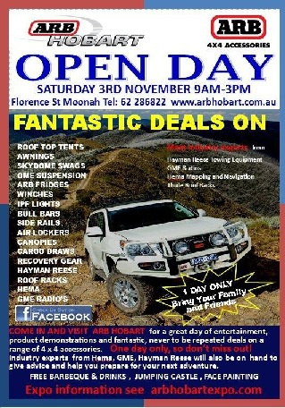ARB Expo Open Day 2012