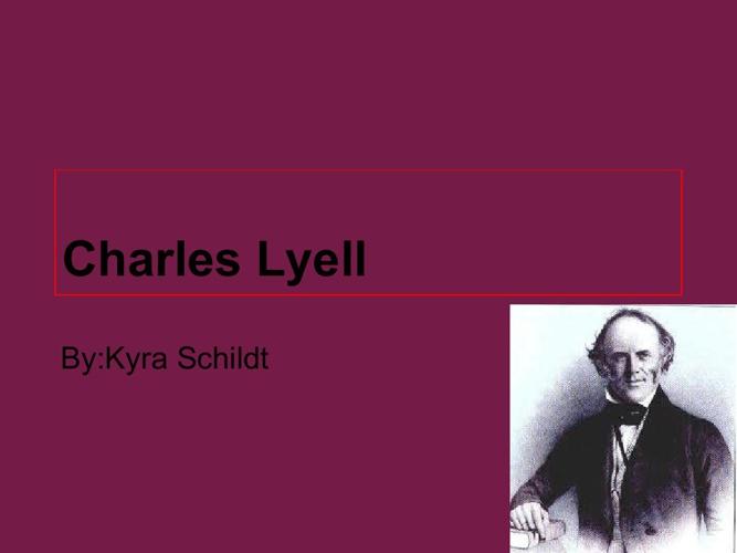 p 3 schildt lyell