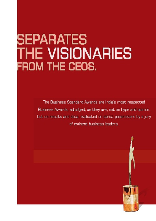 The Business Standard Awards