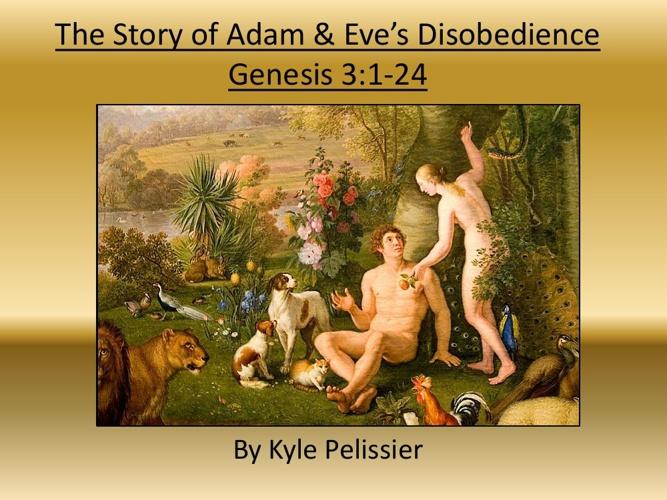 Adam & Eve Genesis 3 Project
