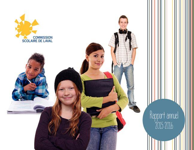 Rapport annuel 2015-2016 de la Commission scolaire de Laval