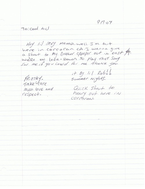 """Pocos Pero Locos """"Dedications From The Pen"""" Letters 2007: Vol. 3"""