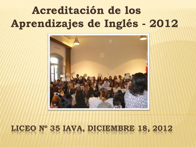 Acreditacion 2012