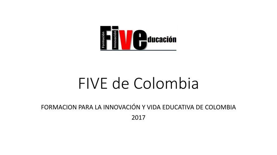 FIVE de Colombia - Quienes somos?