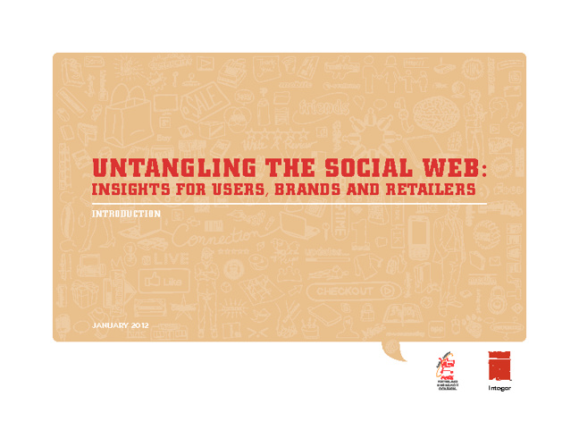 Untangling the Social Web - Introduction